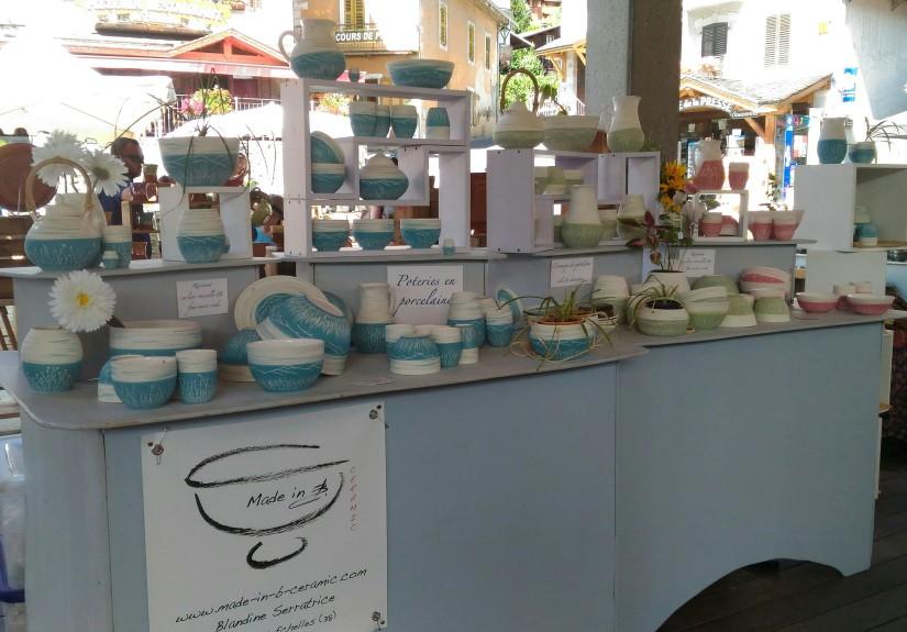 Marché Potiers / Collection Porcelaine uniquement